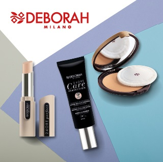 Deborah Milano make-up a pudr