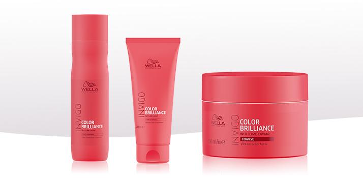 shampoing cheveux colorés Wella