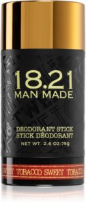 18.21 Man Made Sweet Tobacco čvrsti dezodorans bez aluminijskih soli