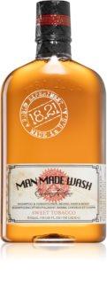 18.21 Man Made Sweet Tobacco Shampoo og balsam til hår, skæg og krop