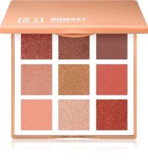 3INA The Eyeshadow Palette Sunset paletka očních stínů