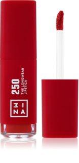 3INA The Longwear Lipstick dlouhotrvající tekutá rtěnka