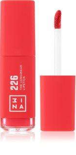 3INA The Longwear Lipstick Pitkäkestoinen Nestemäinen Huulipuna