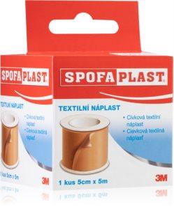 3M Spofaplast Cívková textilní náplast 5 cm x 5 m pevná cívková náplast ke stříhání