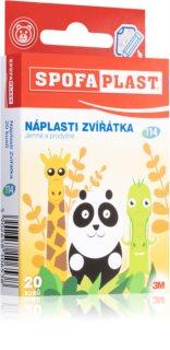 3M Spofaplast Zvířátka jemné a prodyšné náplasti pro děti