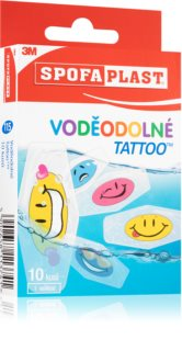 3M Spofaplast Voděodolné tattoo Voděodolné barevné náplasti