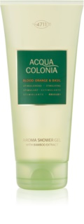 4711 Acqua Colonia Blood Orange & Basil sprchový gel unisex