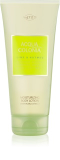 4711 Acqua Colonia Lime & Nutmeg Body Lotion Unisex