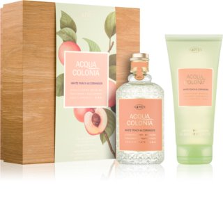 4711 Acqua Colonia White Peach & Coriander coffret cadeau I. mixte