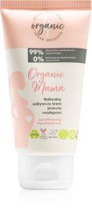 4Organic Organic Mama crème corporelle anti-vergetures pour femmes enceintes ou après l'accouchement