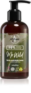 4Organic Mr. Wild Citrus & Spicy gel nettoyant pour barbe, visage et cheveux