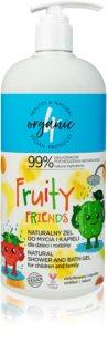 4Organic Fruity gel douche extra-doux format familial