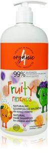 4Organic Fruity besonders schonendes Duschgel für die ganze Familie