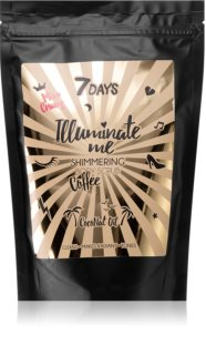 7DAYS ILLUMINATE ME Miss Crazy kawowy peeling do ciała