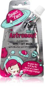 7DAYS SPACE FACE Miss Astronaut maseczka oczyszczająca peel-off