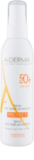A-Derma Protect spray-loțiune de protecție SPF 50+