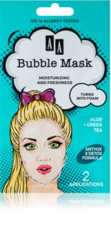 AA Cosmetics AA Bubble Mask masca revigorantă