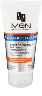 AA Cosmetics Men Advanced Care energetska krema za lice