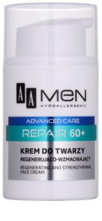 AA Cosmetics Men Advanced Care erneuernde regenerierende Gesichtscreme 60+