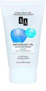AA Cosmetics Collagen HIAL+ energizujúci čistiaci gél 30+