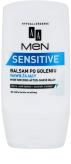 AA Cosmetics Men Sensitive Fugtende aftershave balsam