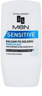 AA Cosmetics Men Sensitive balsam hidratant dupa barbierit