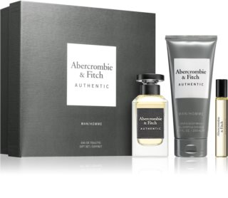 Abercrombie & Fitch Authentic Gift Set  I. voor Mannen