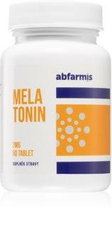 Abfarmis Melatonin 2mg doplněk stravy pro snadnější usínání