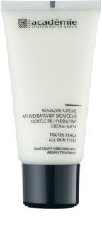 Academie All Skin Types máscara cremosa suave com efeito hidratante