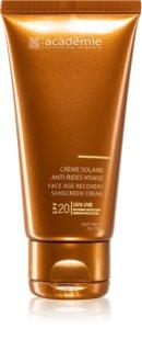 Academie Bronzécran Sonnencreme gegen Hautalterung SPF 20