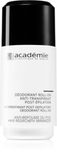 Academie All Skin Types Post-Depilatory dezodorant roll-on na spomalenie rastu chĺpkov