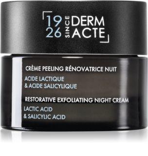 Academie Derm Acte Intense Age Recovery ночной крем против морщин с эффектом пилинга
