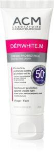 ACM Dépiwhite M schützende Gesichtscreme SPF 50+