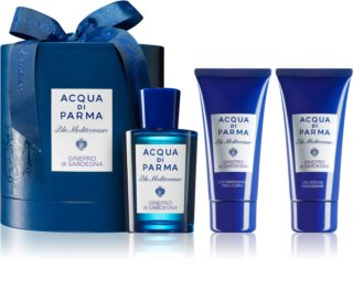 Acqua di Parma Blu Mediterraneo Ginepro di Sardegna Gift Set Unisex