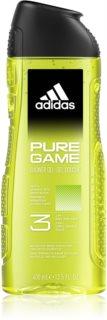 Adidas Pure Game душ-гел за лице, тяло и коса 3 в 1