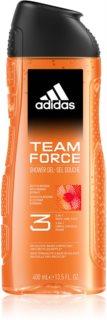 Adidas Team Force душ-гел за лице, тяло и коса 3 в 1