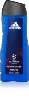 Adidas UEFA Champions League Victory Edition душ гел за тяло и коса 2 в 1