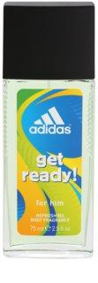 Adidas Get Ready! deodorant s rozprašovačom pre mužov
