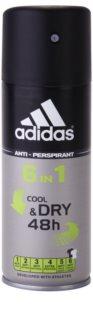 Adidas 6 in 1 Cool & Dry дезодорант за мъже
