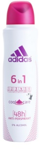 Adidas 6 in 1  Cool & Care deo-spray für Damen
