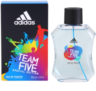 Adidas Team Five Eau de Toilette per uomo