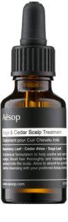 Aēsop Hair Sage & Cedar mască hidratantă pentru păr, înainte de spălare