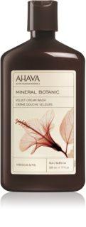 Ahava Mineral Botanic Hibiscus & Fig zamatový sprchový krém