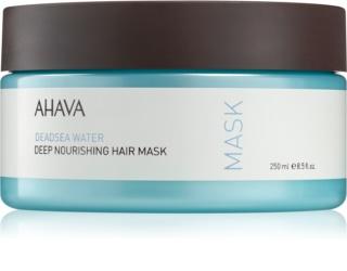 Ahava Dead Sea Water глубоко питательная маска для волос