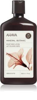 Ahava Mineral Botanic Hibiscus & Fig Körpermilch mit Samteffekt
