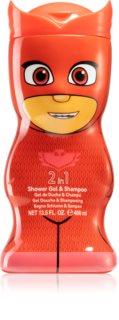 Air Val PJ Masks Owlette jemný sprchový gel a šampon pro děti