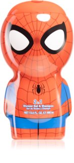 Air Val Spiderman sprchový gel a šampon 2 v 1 pro děti