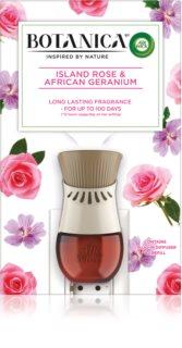 Air Wick Botanica Island Rose & African Geranium Sähköinen diffuuseri Ruusun tuoksulla