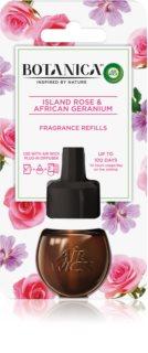 Air Wick Botanica Island Rose & African Geranium rezervă pentru difuzorul electric cu aromă de trandafiri