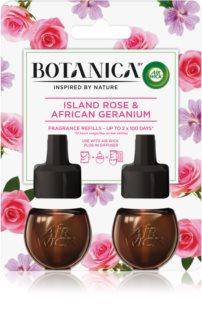 Air Wick Botanica Island Rose & African Geranium ανταλλακτικό ηλεκτρικών διαχυτών με την μυρωδιά των τριαντάφυλλων DUO